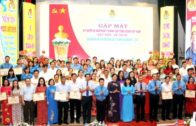 Lào Cai vinh danh 90 chủ tịch công đoàn cơ sở tiêu biểu